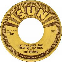 Cover Carl Perkins - Let The Jukebox Keep On Playing