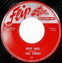 Cover Carl Perkins - Movie Magg