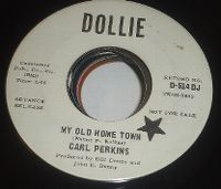 Cover Carl Perkins - My Old Home Town