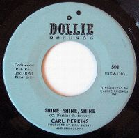 Cover Carl Perkins - Shine, Shine, Shine