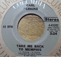 Cover Carl Perkins - Take Me Back To Memphis