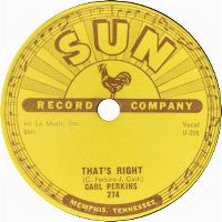 Cover Carl Perkins - That's Right
