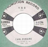 Cover Carl Perkins - Y-O-U