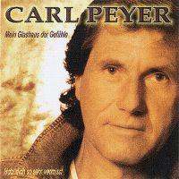 Cover Carl Peyer - Mein Glashaus der Gefühle