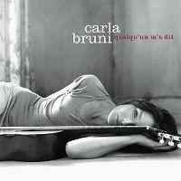Cover Carla Bruni - Quelqu'un m'a dit