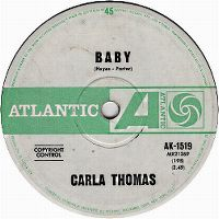 Cover Carla Thomas - B-A-B-Y