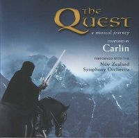 Cover Carlin with The New Zealand Symphony Orchestra - The Quest - A Musical Journey
