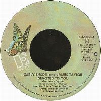Cover Carly Simon & James Taylor - Devoted To You