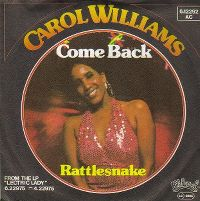 Cover Carol Williams - Come Back