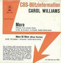 Cover Carol Williams - More