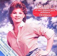 Cover Carola - Je ogen hebben geen geheimen