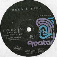 Cover Carole King - Disco Tech