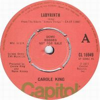 Cover Carole King - Labyrinth
