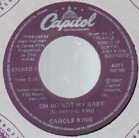 Cover Carole King - Oh No Not My Baby