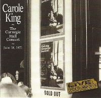 Cover Carole King - The Carnegie Hall Concert