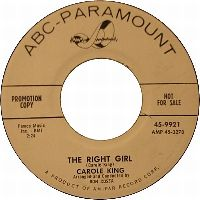 Cover Carole King - The Right Girl