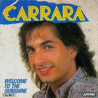 Cover Carrara - Welcome To The Sunshine