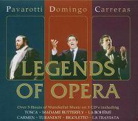 Cover Carreras / Domingo / Pavarotti - Legends Of Opera