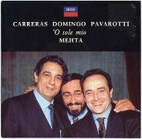 Cover Carreras / Domingo / Pavarotti - 'o sole mio