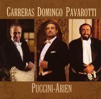 Cover Carreras / Domingo / Pavarotti - Puccini-Arien