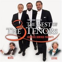 Cover Carreras / Domingo / Pavarotti - The Best Of The 3 Tenors