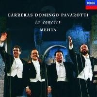 Cover Carreras / Domingo / Pavarotti / Mehta - In Concert