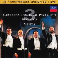 Cover Carreras / Domingo / Pavarotti / Mehta - In Concert