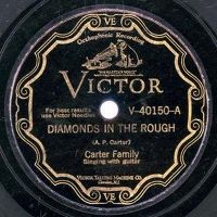 Cover Carter Family - Diamonds In The Rough
