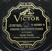 Cover Carter Family - Engine One-Forty-Three