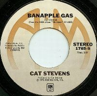 Cover Cat Stevens - Banapple Gas
