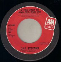 Cover Cat Stevens - If You Want To Sing Out, Sing Out