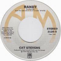Cover Cat Stevens - Randy