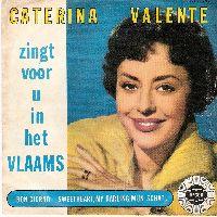Cover Caterina Valente - Sweetheart, My Darling, mijn schat / Bon giorno