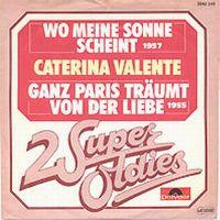 Cover Caterina Valente - Wo meine Sonne scheint