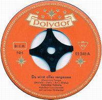 Cover Caterina Valente / Adalbert Luczkowski mit seinem Orchester - Du wirst alles vergessen (Canaria)