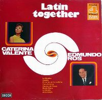 Cover Caterina Valente & Edmundo Ros - Latin Together
