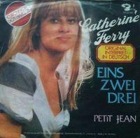 Cover Catherine Ferry - Eins zwei drei
