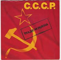 Cover C.C.C.P. - Made In Russia