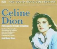 Cover Céline Dion - The Solid Gold Collection