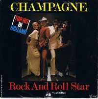Cover Champagne - Rock And Roll Star