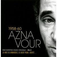 Cover Charles Aznavour - 1958-60