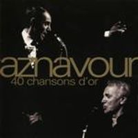 Cover Charles Aznavour - 40 chansons d'or