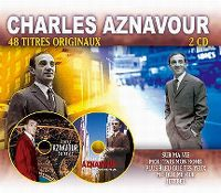 Cover Charles Aznavour - 48 titres originaux