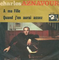 Cover Charles Aznavour - À ma fille