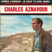 Cover Charles Aznavour - Après l'amour