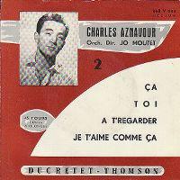 Cover Charles Aznavour - Ça