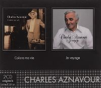 Cover Charles Aznavour - Colore ma vie / Je voyage
