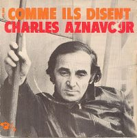 """Cover Charles Aznavour - Comme """"ils disent"""""""