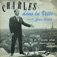 Cover Charles Aznavour - Dans la ville