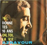 Cover Charles Aznavour - Donne tes 16 ans